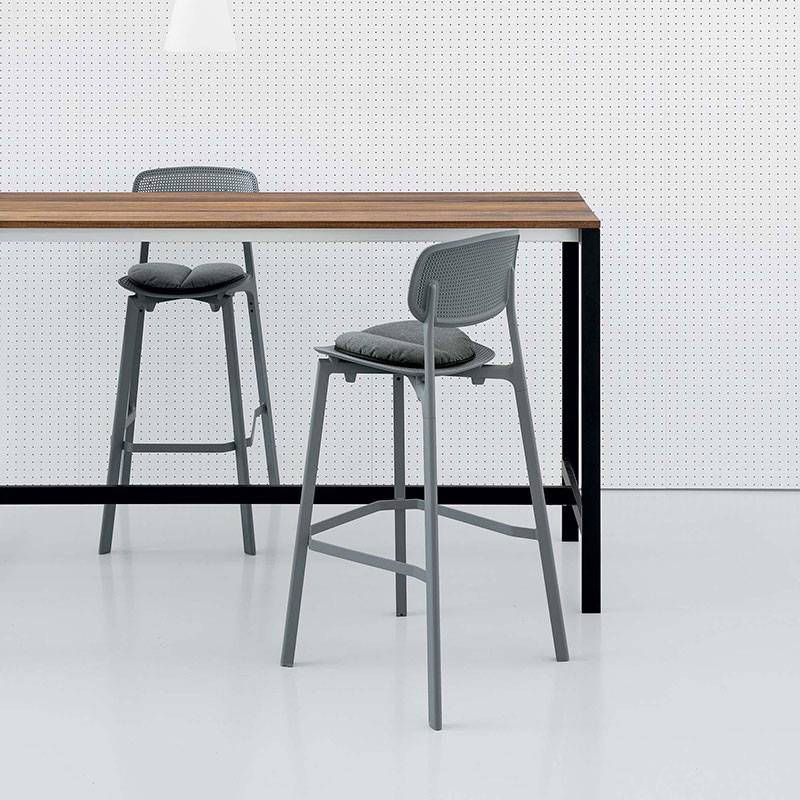 baccc6a0e9a3 Steel & Oak Freestanding breakfast bar table